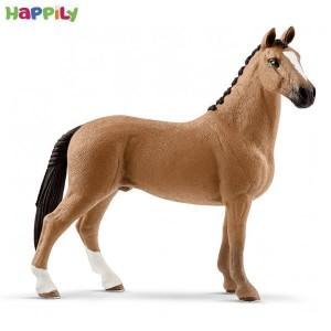 اسب قهوه ای پیشانی سفید اشلایش 13837