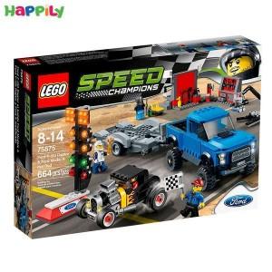 لگو Speed فورد اف-۱۵۰ به همراه ماشین هات راد 75875