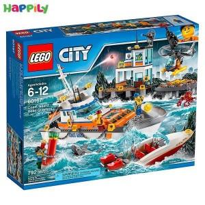 لگو city دفتر مرکزی گارد ساحلی 60167