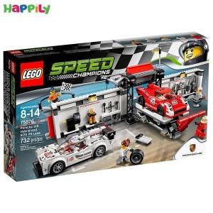 لگو speed پیت استاپ تیم پورشه 75876