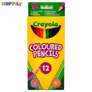 تصویر بسته مداد رنگی 12 عددی کرایولا 3612