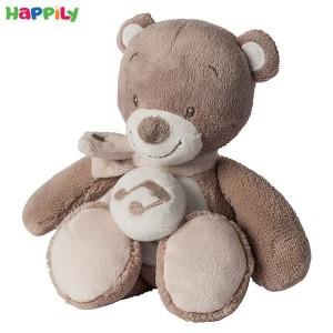 عروسک موزیکال خرس قهوه ای کوچک ناتو 777087