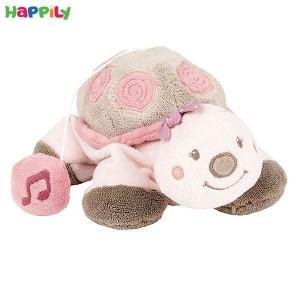 عروسک موزیکال لاکپشت صورتی کوچک ناتو 987103