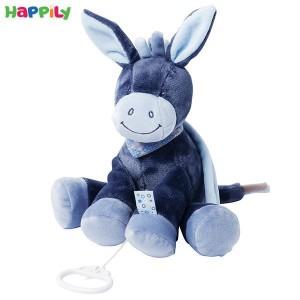 عروسک موزیکال الاغ سورمه ای ناتو 321051
