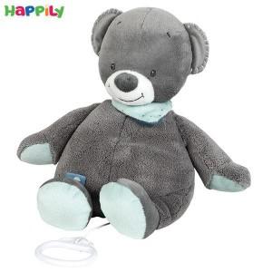 عروسک موزیکال خرس طوسی ناتو 843065