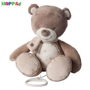 عروسک موزیکال خرس قهوه ای ناتو 777056
