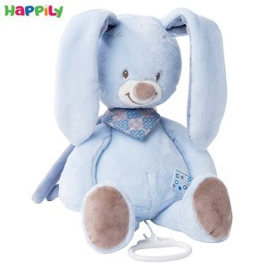 عروسک موزیکال خرگوش آبی ناتو 321044