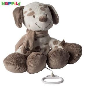 عروسک موزیکال سگ خالدار ناتو 777063