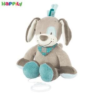 عروسک موزیکال سگ طوسی ناتو 531061
