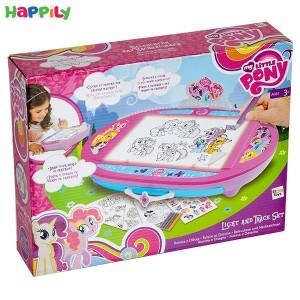 میز نقاشی نورانی پونی IMC Toys 27725