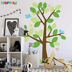 استیکر دیواری درخت و پرنده 1319