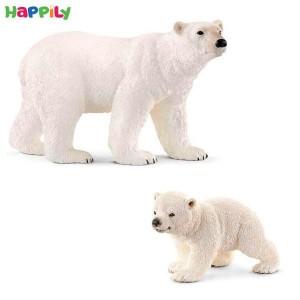 ست خرس قطبی بچه خرس قطبی اشلایش