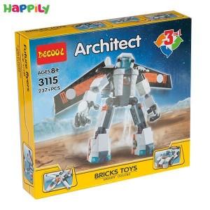 لگو دکول 3 در 1 مدل ربات 3115