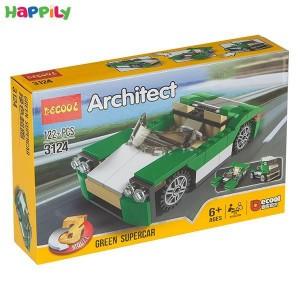 لگو دکول 3 در 1 مدل ماشین های سبز 3124
