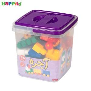 آجره سطلی 45 قطعه با فرزندان 4309