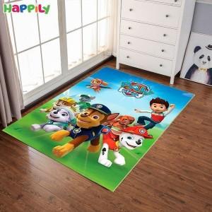 فرش اتاق کودک طرح سگ های نگهبان 51201