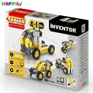 ساختنی 4 در 1 engino ماشینهای صنعتی 0434