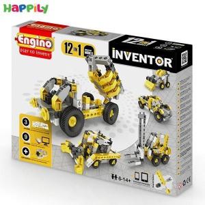 ساختنی 12 در 1 engino ماشین های صنعتی 1234