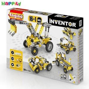 ساختنی 16 در 1 engino ماشین های صنعتی 1634