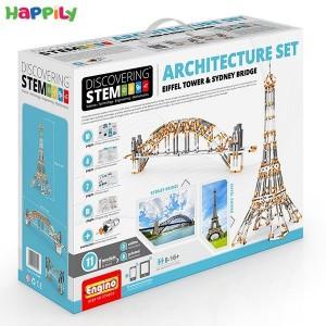ساختنی engino اِستم مجموعه معماری STEM55