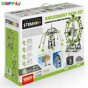 ساختنی engino اِستم مجموعه شهربازی STEM56