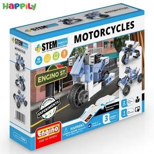 ساختنی 3 در 1 engino موتورسیکلت STH22