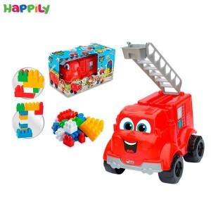 ماشین آتشنشانی و لگو dede  دد 03452