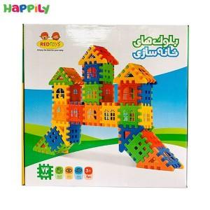 بلوک های خانه سازی 72 قطعه 10007
