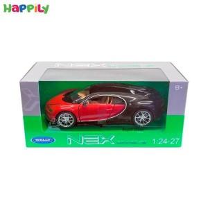 ماکت ماشین bugatti chiron بوگاتی  welly  24077