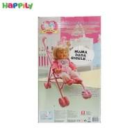 عروسک میلا با کالسکه 1461E