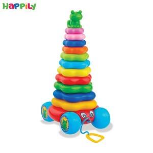 اسباب بازی حلقه هوش چرخ دار tak toy تک توی 1240