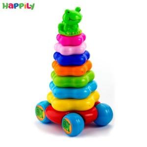 اسباب بازی حلقه هوش چرخ دار tak toy  تک توی 1231