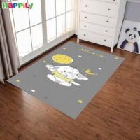 فرش اتاق کودک طرح فیل کوچولو 52310