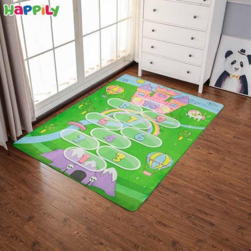 فرش اتاق کودک طرح زمین بازی 52361