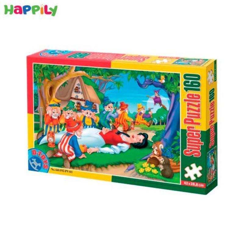 پازل D-Toys طرح سفیدبرفی و هفت کوتوله 160 تکه 60495PV01