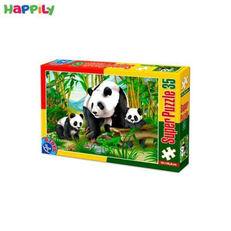 پازل D-Toys طرح خانواده پاندا 35 تکه 60198AN04