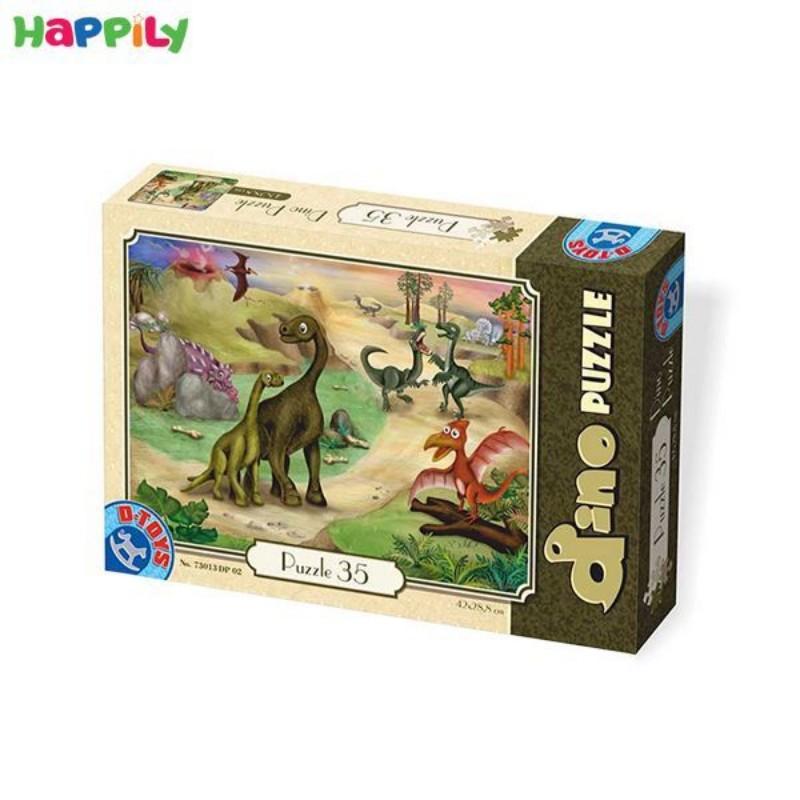 پازل D-Toys طرح دایناسورها 35 تکه 73013DP02