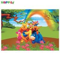 فرش اتاق کودک طرح pooh پو  52378