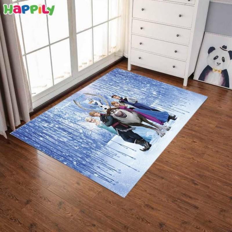 فرش اتاق کودک طرح frozen فروزن 52394