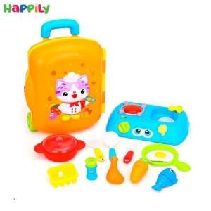 ست آشپزخانه کیفی  Huile toys هالی تویز 3108