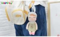 عروسک پولیشی آویز انجل سبز A31382