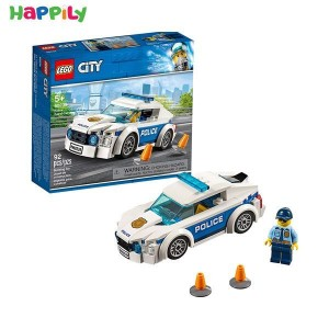 لگو city سیتی ماشین گشت پلیس 60239