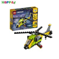 لگو lego هلیکوپتر ماجراجویی 31092