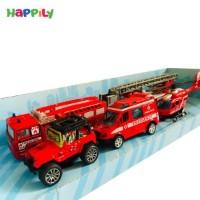 ست ماشین آتشنشانی فلزی 9158