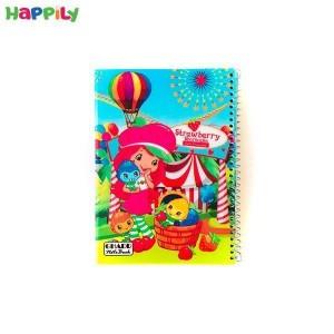 دفتر نقاشی سیمی 50 برگ طرح توت فرنگی 78123