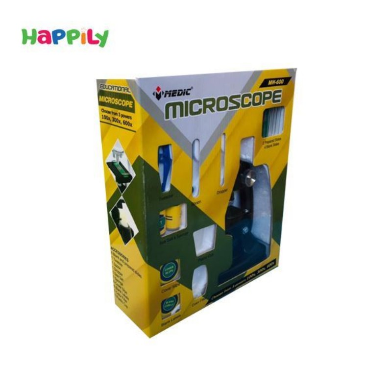 میکروسکوپ چراغدار medic مدیک مدل mh600L