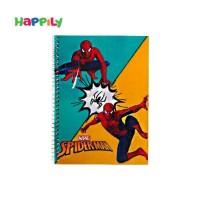 دفتر نقاشی سیمی 50 برگ طرح اسپایدرمن  78125
