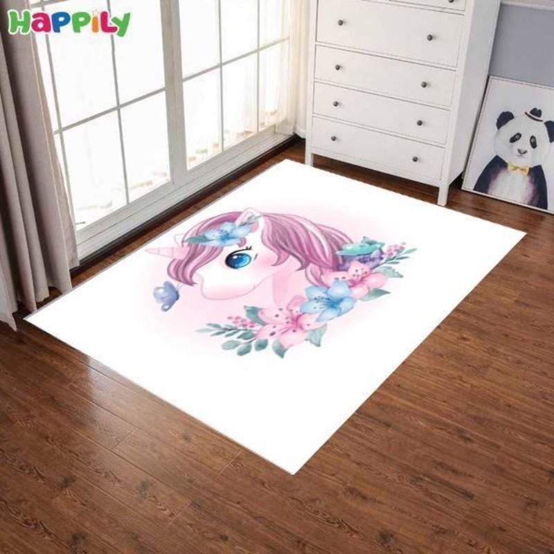 فرش اتاق کودک یونیکورن  کوچک 52443